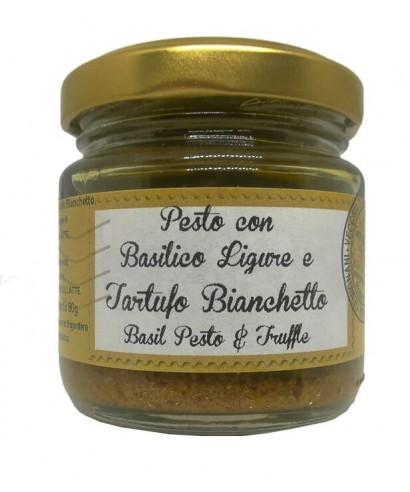 Pesto au Basilic de Ligurie et à la Truffe Blanquette