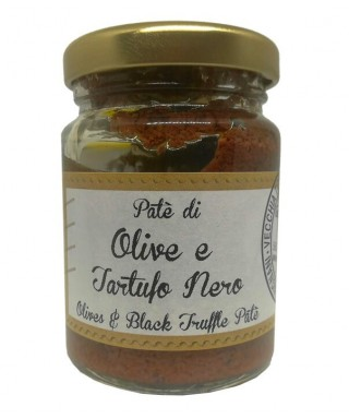 Olives and Black Truffle Patè