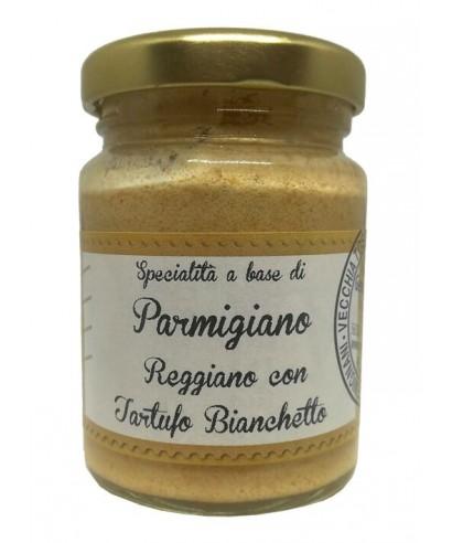Parmigiano Reggiano with Bianchetto Truffle
