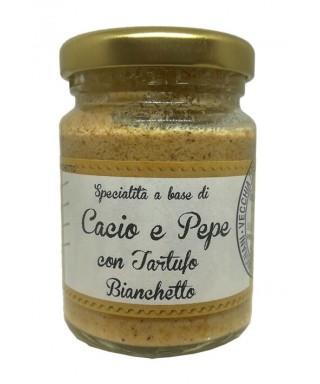 Cacio e Pepe with Bianchetto Truffle