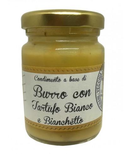 Burro con Tartufo Bianco e Bianchetto
