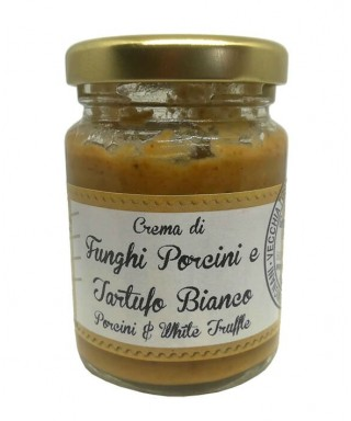 Porcini and White Truffle Cream