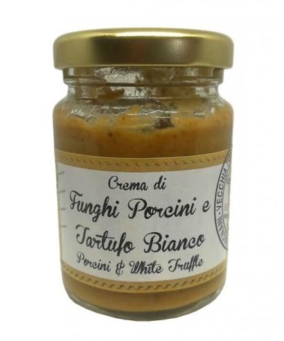 Crème de Cèpes et Truffe Blanche