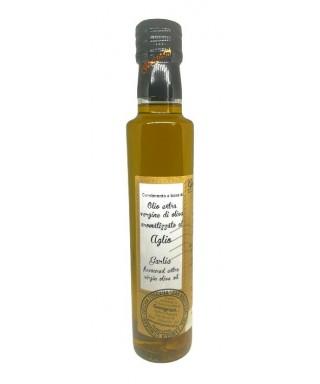 Huile d'Olive Extra Vierge à l'Ail