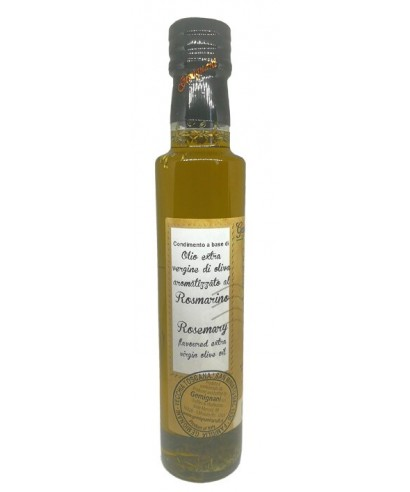 Huile d'Olive Extra Vierge au Romarin