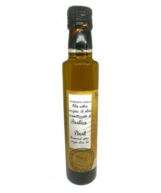 Basil Flavoured Extra Virgin Olive Oil