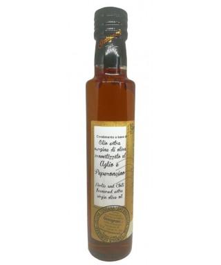 Huile d'Olive Extra Vierge à l'Ail et Piment