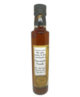 Olio Extra Vergine d'Oliva al Peperoncino Piccante