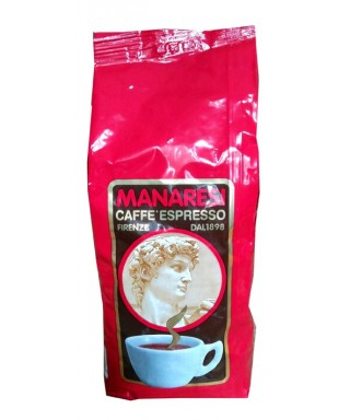 Manaresi Extra Bar Red Coffee Beans