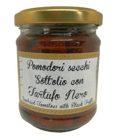 Pomodori Secchi Sott'olio con Tartufo Nero