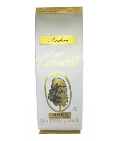 """Café Leonardo """"Arabica"""" pour Moka"""