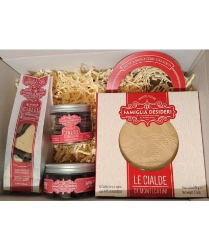 """Waffle Cake """"Montecatini"""" Gift Box"""