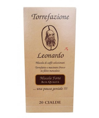 Strong Blend Coffee Pads Leonardo