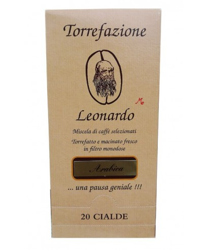 Caffè Arabica Cialde Leonardo