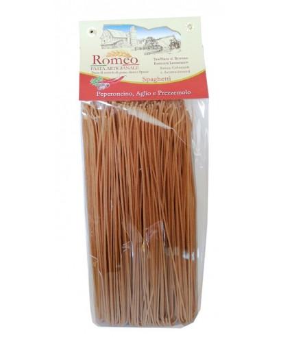 Spaghetti au Piment, Ail et Persil