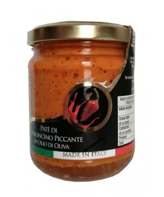Patè di Peperoncini Piccanti