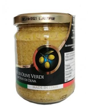 Green Olives Paté