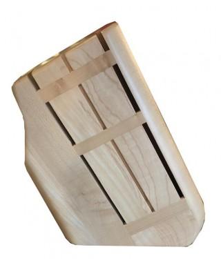 Modern block for 6 Kitchen Knives