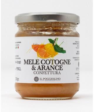 Confettura di Mele Cotogne e Arance