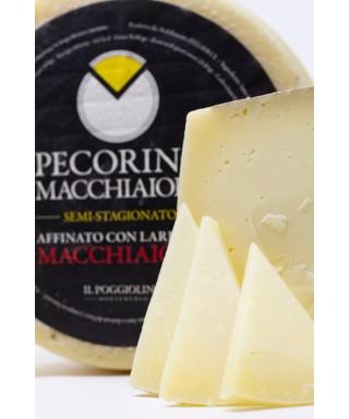 Semi-Aged Tuscan Pecorino Cheese in Lard