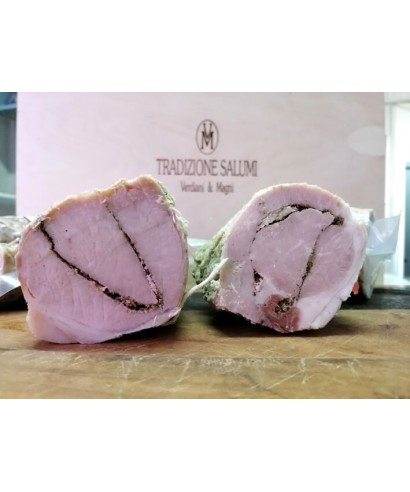 Loin of Pork in Lard