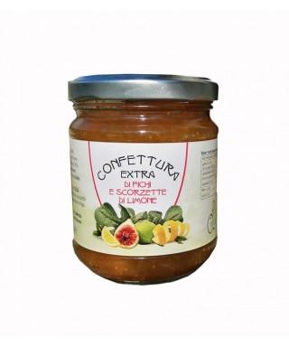 Confiture Extra de Figues et Zeste de Citron