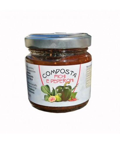Figs and Pepper Compote