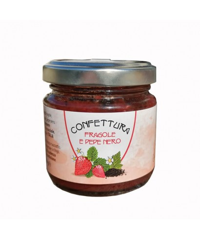 Strawberries and Black Pepper Jam