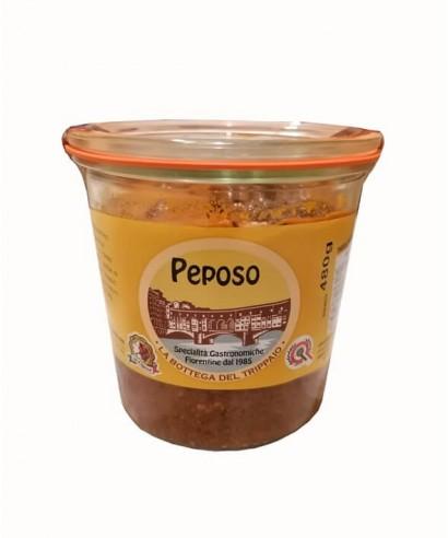 Peposo: Viande, Tomate et Poivre