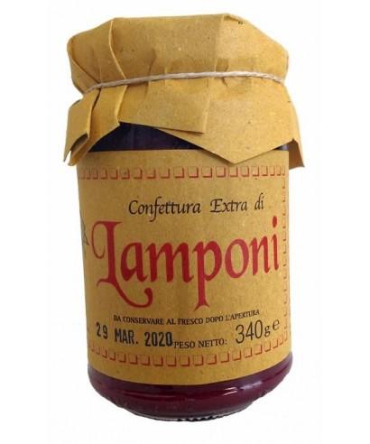 Italian Homemade Raspberries Jam