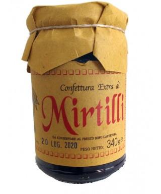 Confettura extra di frutti Mirtilli