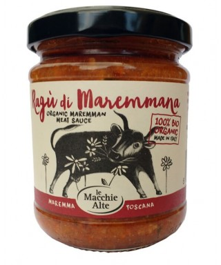 Organic Maremman meat sauce
