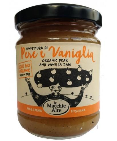 Confettura biologica di pere e vaniglia