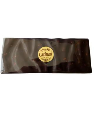 Tavoletta cioccolato fondente con nocciole