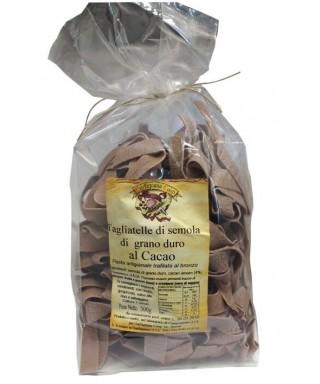 Cocoa Tagliatelle pasta