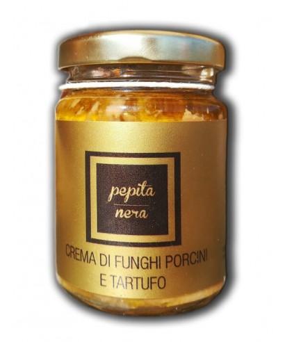 Porcini Mushroom and Truffle Cream