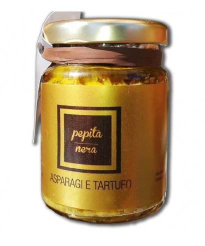 Asparagus and truffle cream