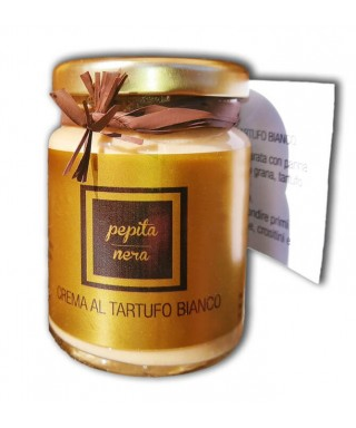 Crème de Truffe Blanche et Fromage Grana