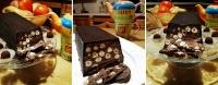 Torrone al cioccolato - La ricetta di Antonella